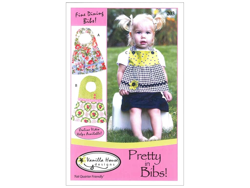Vanilla House Designs Pretty In Bibs Pattern