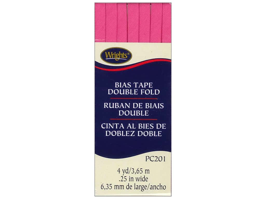 Wrights Double Fold Bias Tape - Berry Sorbet 4 yd.