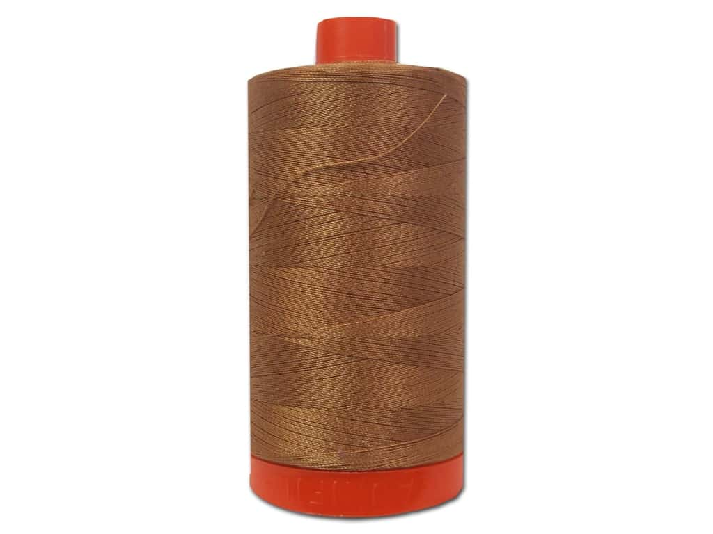 Aurifil Mako Cotton Quilting Thread 50 wt. #2330 Light Chestnut 1420 yd.