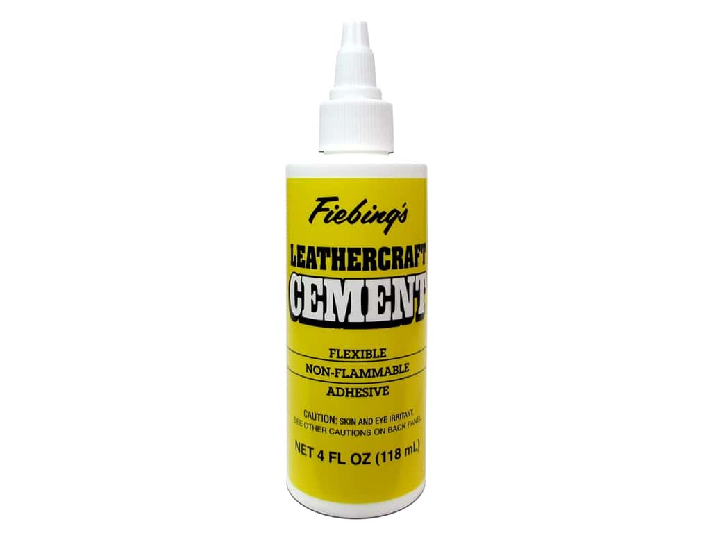 Fiebings Leathercraft Tanners Bond Cement 4oz