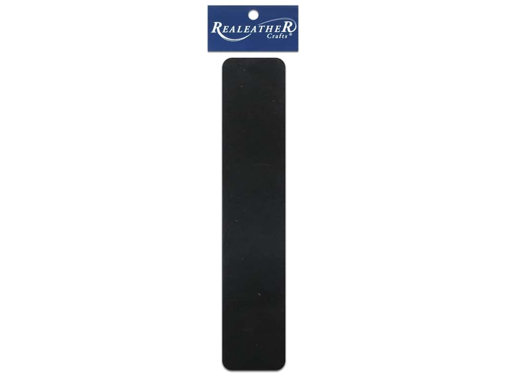 Silver Creek Leather Suede Strip 1 1/2 x 42 in. Black