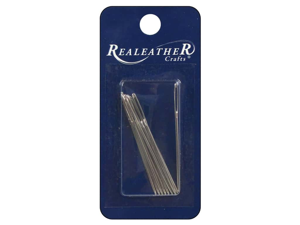 Silver Creek Leather Hand Stitching Needles 10 pc.
