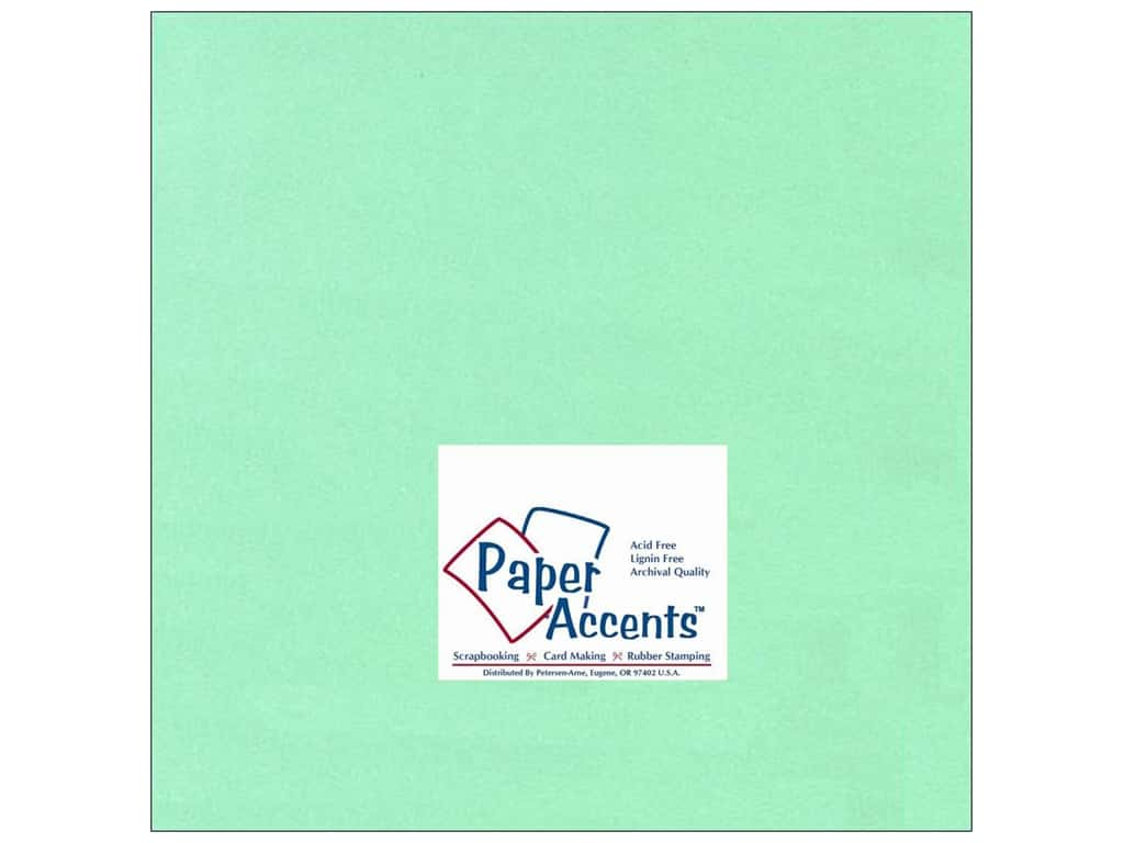 Paper Accents Cardstock 12 x 12 in. #118 Smooth Light Green 25 pc.