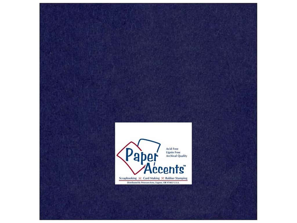 Paper Accents Cardstock 12 x 12 in. #164 Smooth Iris (25 sheets)