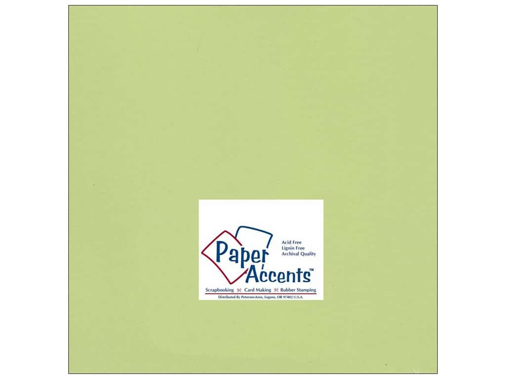 Paper Accents Cardstock 12 x 12 in. #195 Smooth Sour Apple 25 pc.