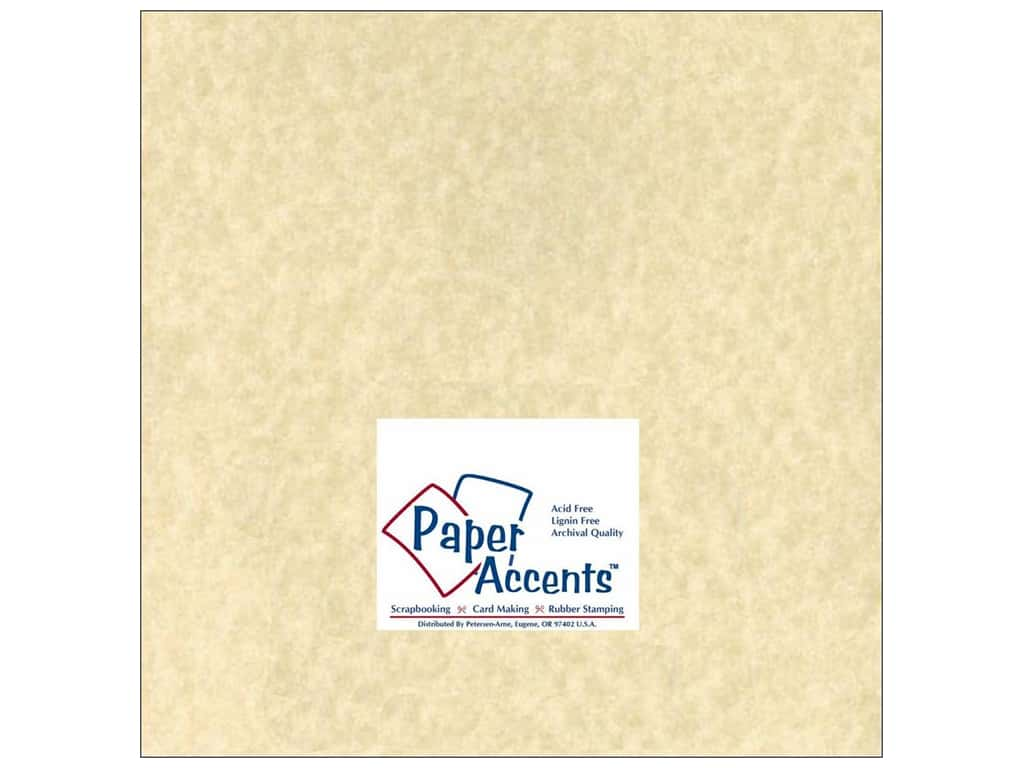 Paper Accents Cardstock 12 x 12 in. #203 Parchment Natural 25 pc.