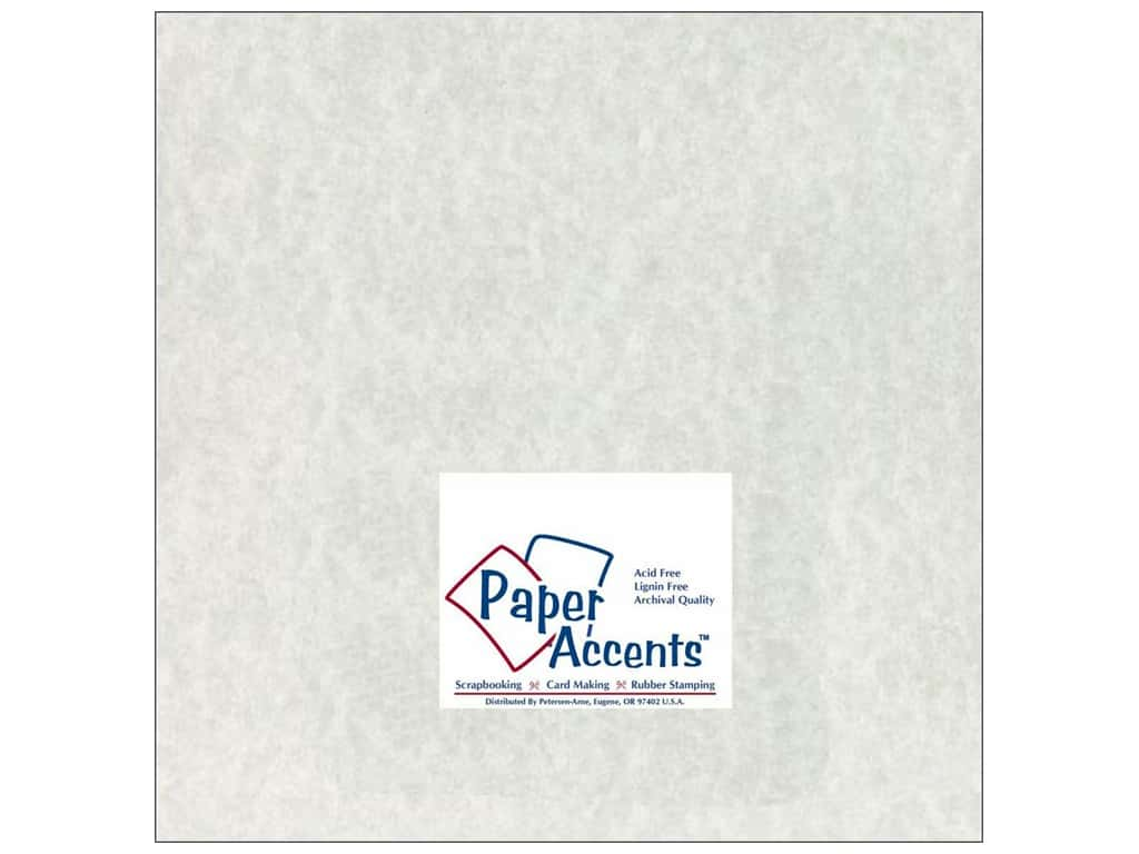 Paper Accents Cardstock 12 x 12 in. #204 Parchment Grey 25 pc.