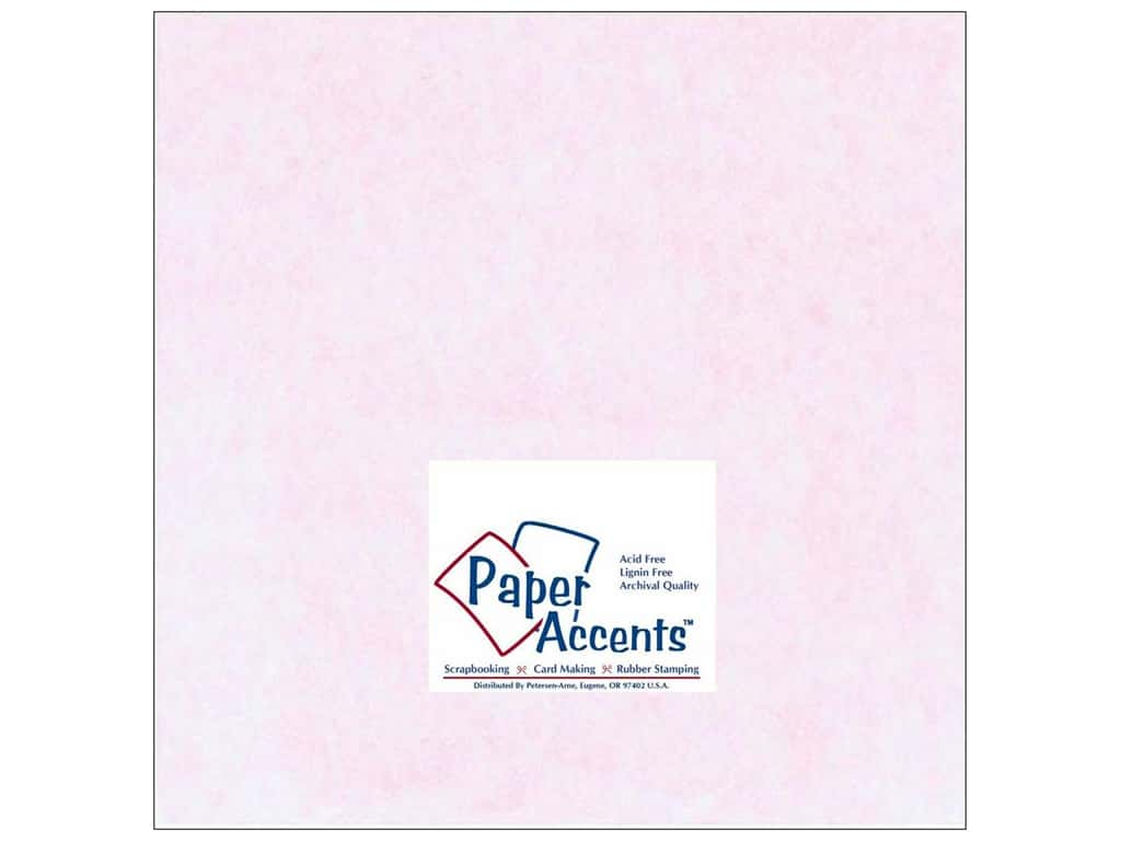 Paper Accents Cardstock 12 x 12 in. #206 Parchment Pink 25 pc.