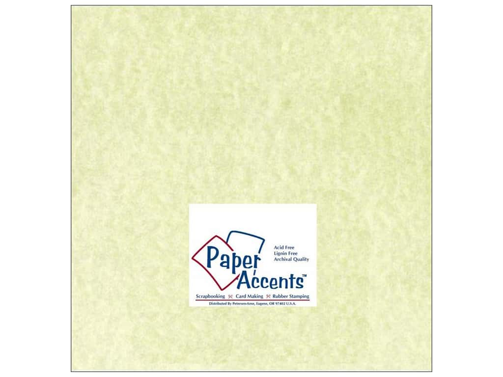 Paper Accents Cardstock 12 x 12 in. #207 Parchment Green 25 pc.