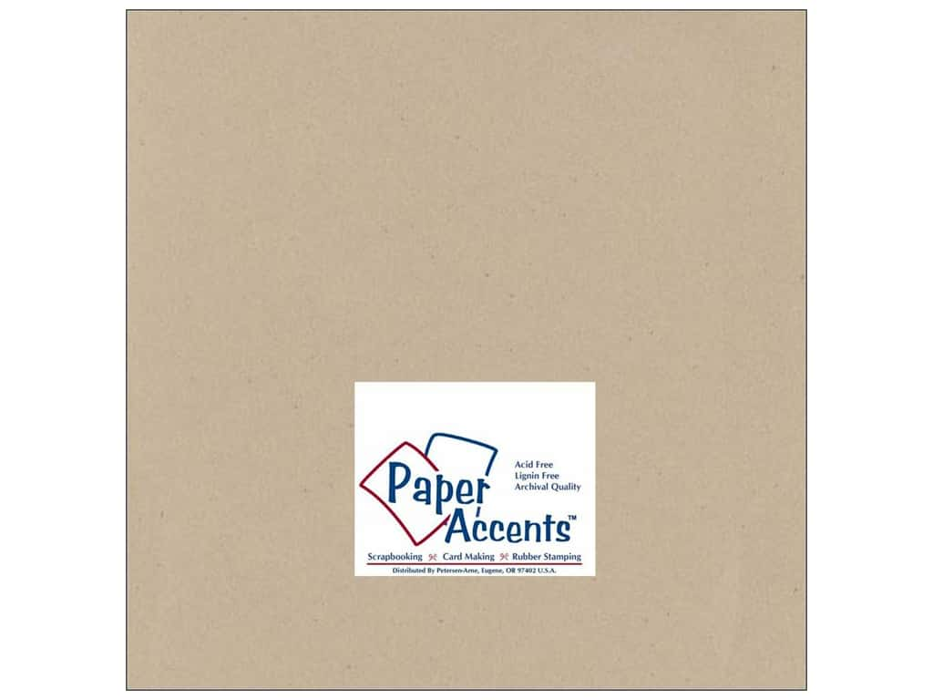 Paper Accents Cardstock 12 x 12 in. #304 Recycled Kraft (25 sheets)