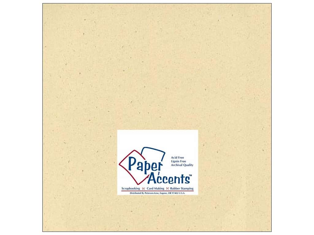 Paper Accents Cardstock 12 x 12 in. #305 Recycled Husk 25 pc.