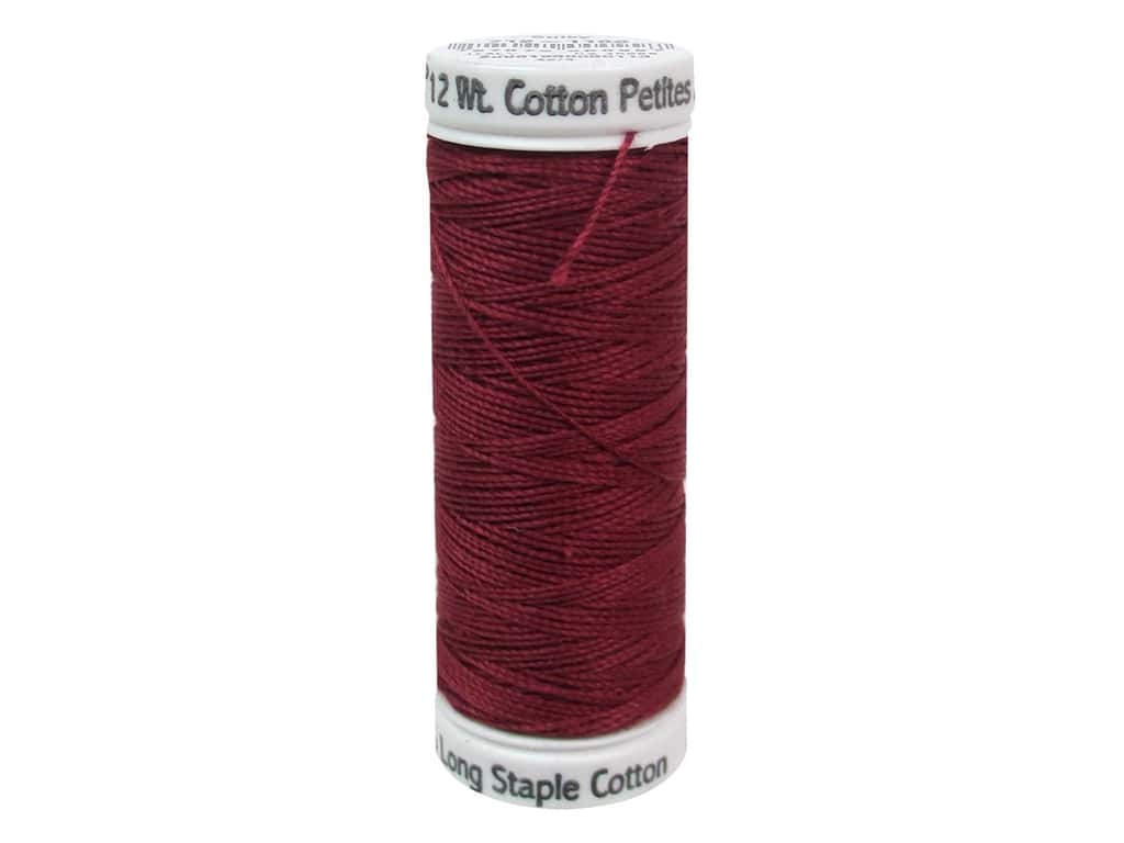 Sulky Cotton Thread Petites 12wt 50yd Bayberry Red