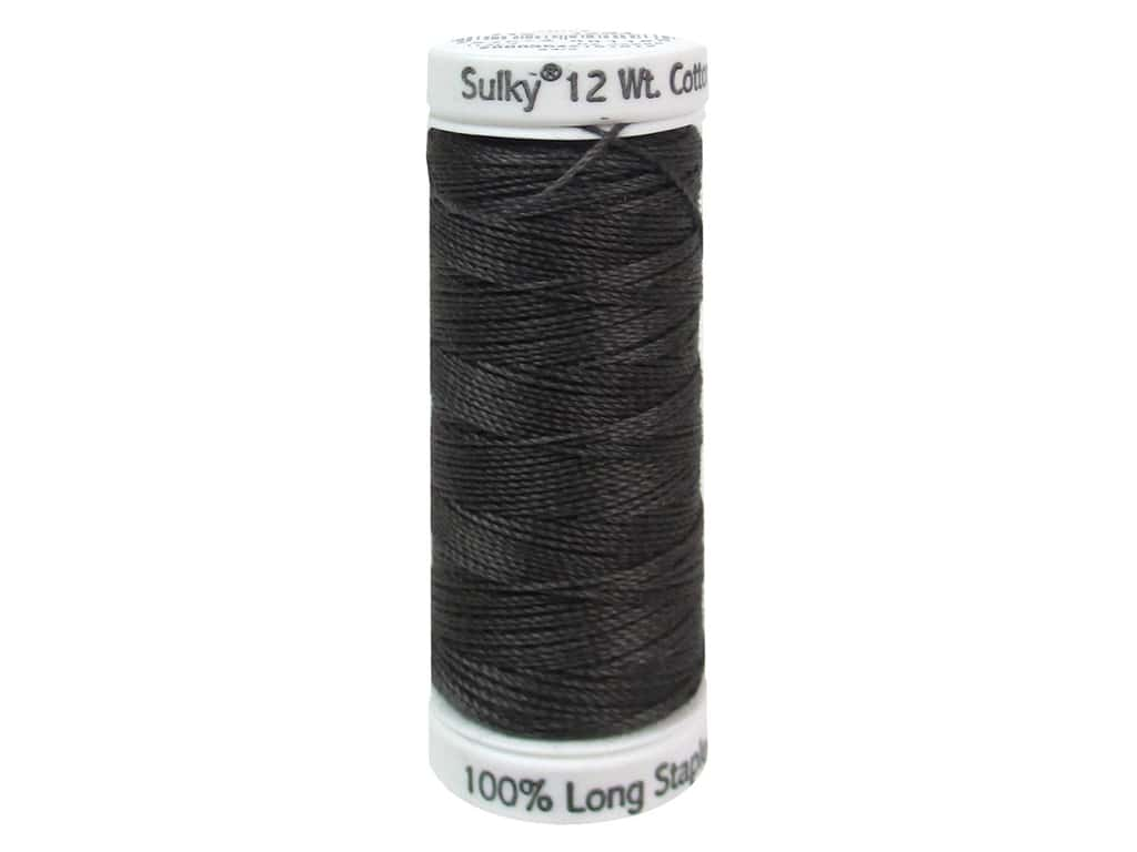 Sulky Cotton Thread Petites 12wt 50yd Almost Black