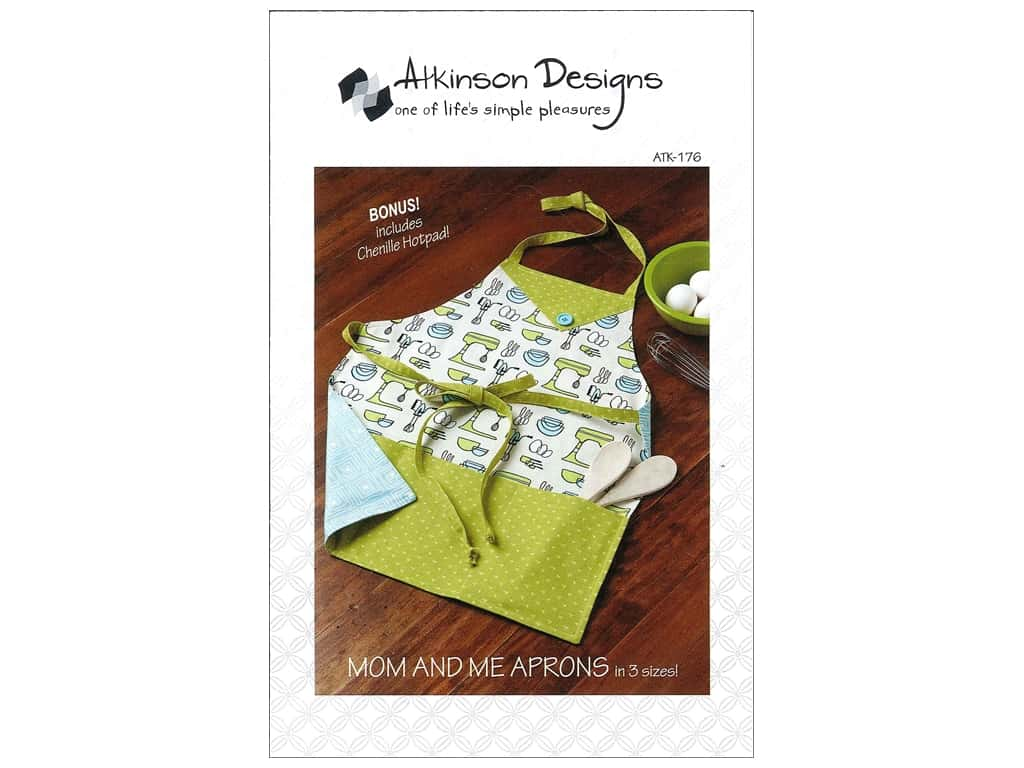 Atkinson Designs Mom And Me Aprons Pattern