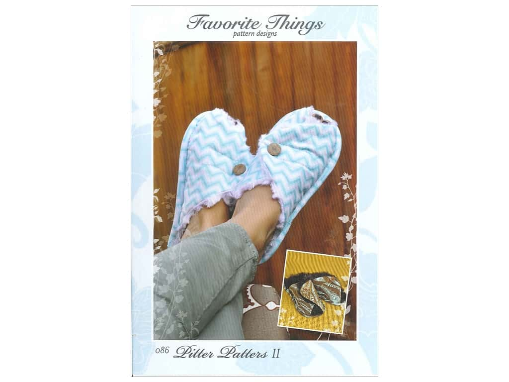 Favorite Things Pitter Patters II Pattern