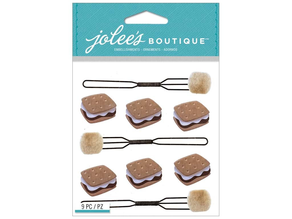 Jolee's Boutique Stickers S'mores Repeat