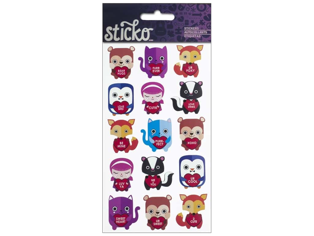 Sticko Stickers - Bear Hugs