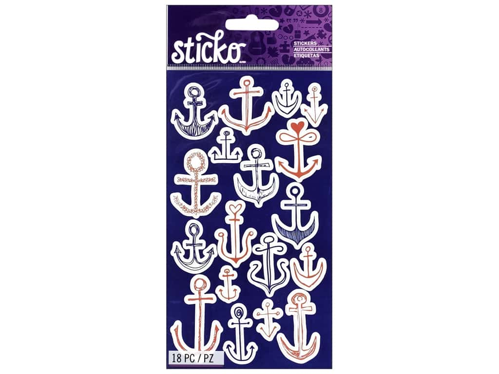Sticko Stickers - Doodle Anchors