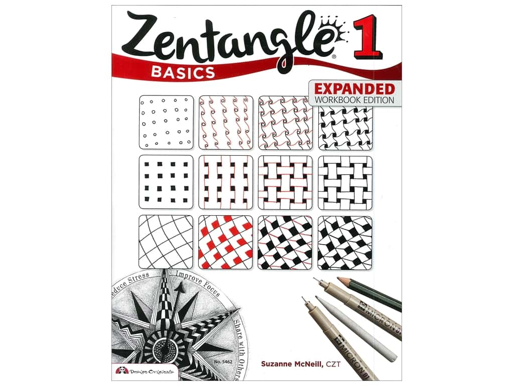 Zentangle 1: Basics Book - Expanded Workbook Edition