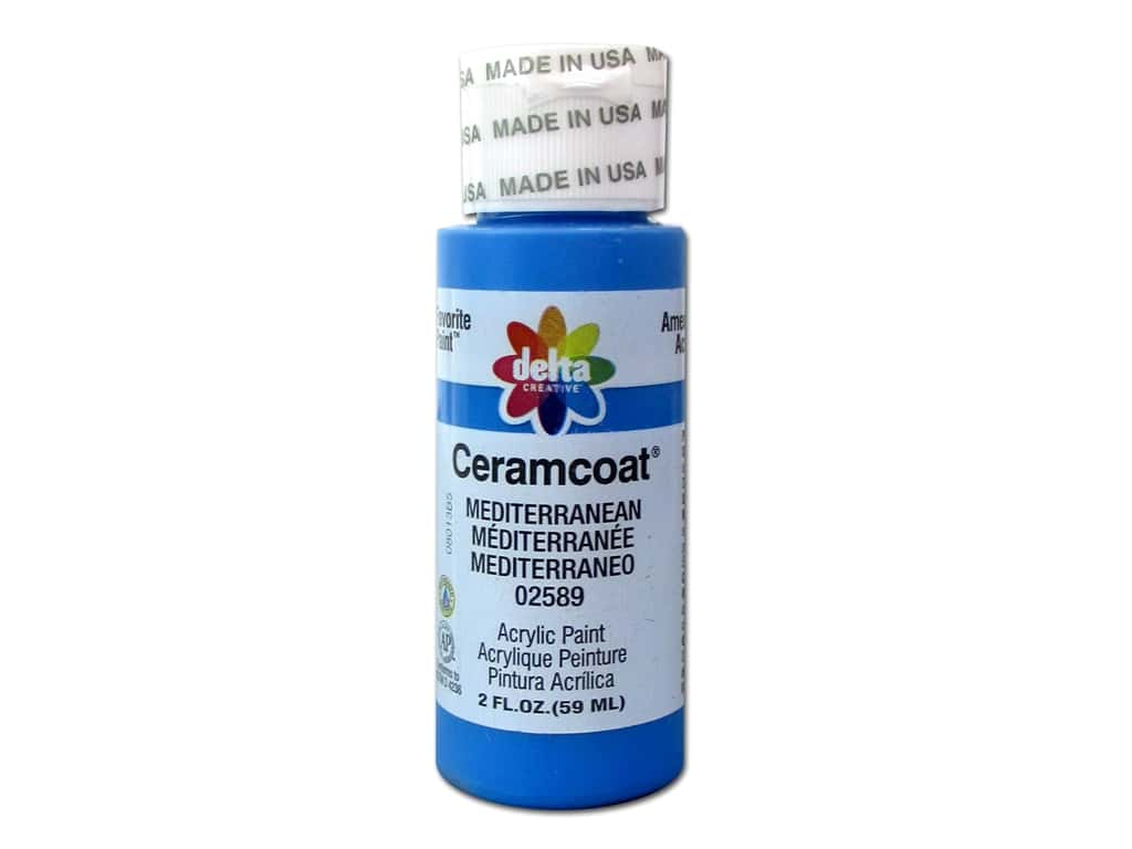 Ceramcoat Acrylic Paint by Delta 2 oz. #2589 Mediterranean