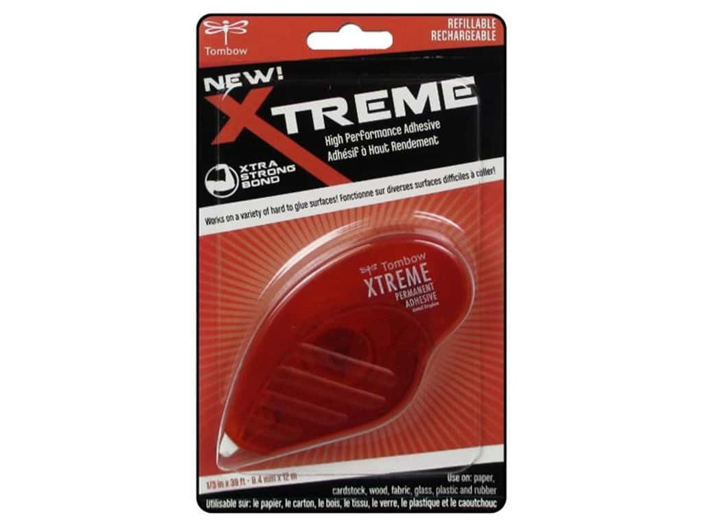 Tombow Adhesive Xtreme Tape Runner Permanent 39'