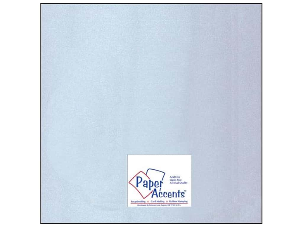 Paper Accents Cardstock 12 x 12 in. Glossy Silver (25 sheets)
