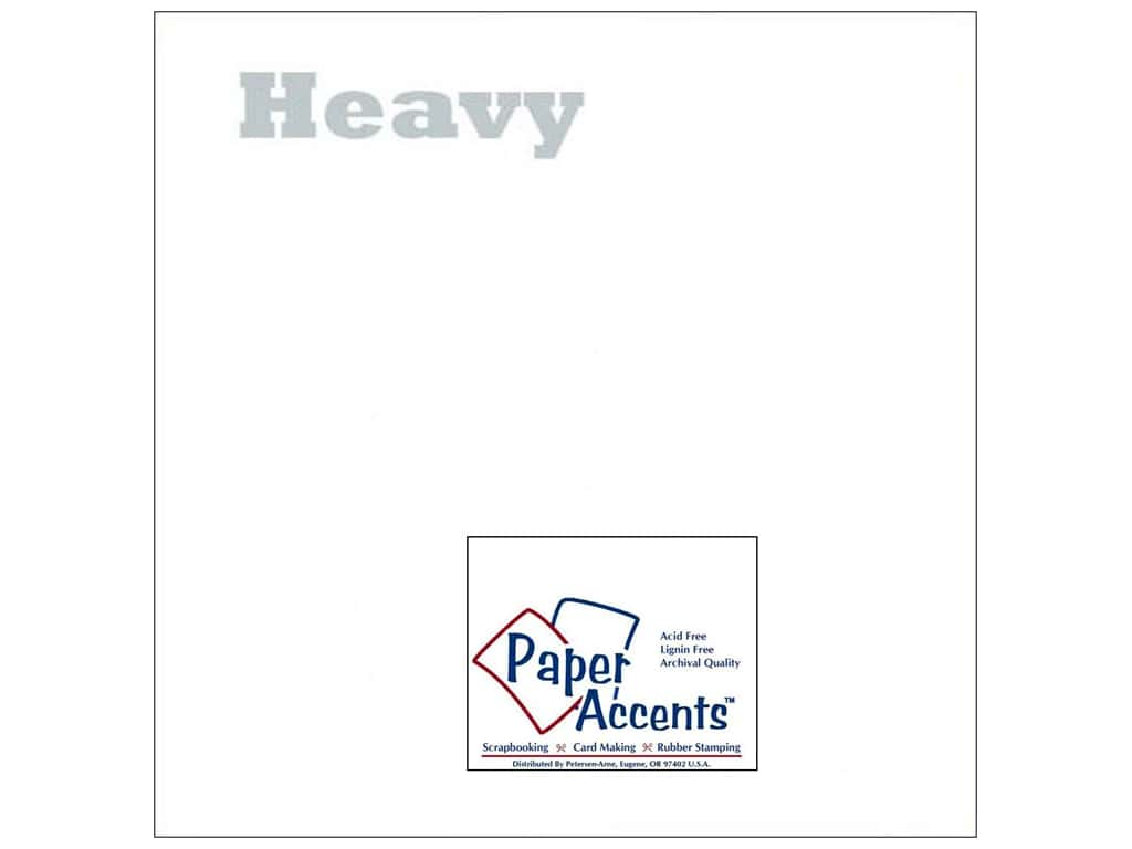 Paper Accents Vellum 12 x 12 in. #903 Heavy Weight White (25 sheets)