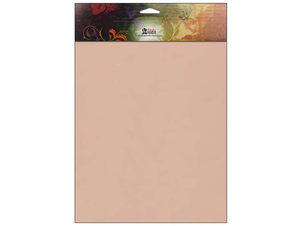 """Leather Factory Tooling Leather Large 8.5""""x 11"""""""