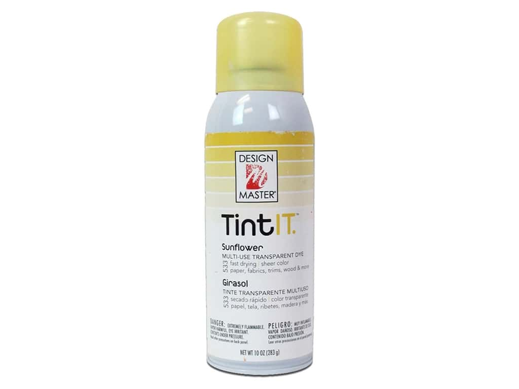 Design Master Tint It 10 oz. Sunflower