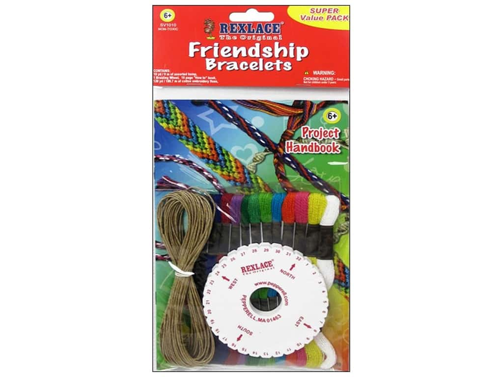 Pepperell Activity Pack Rexlace Super Value Friendship