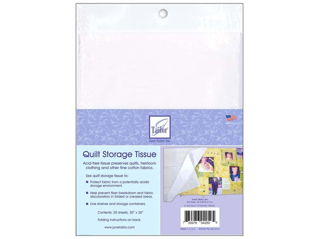 June Tailor Quilter's Storage Tissue 20 pc.