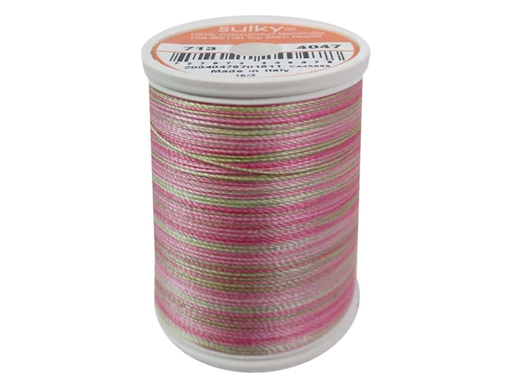 Sulky Blendables Cotton Thread 12 wt. 330 yd. #4047 Princess Garden