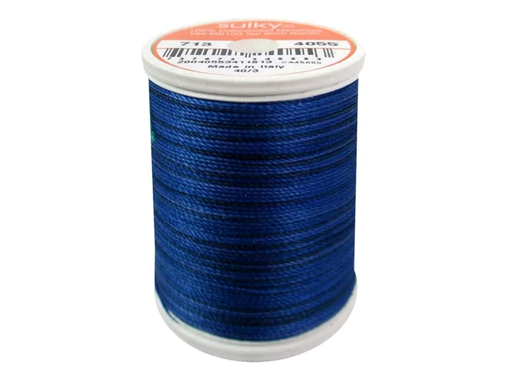 Sulky Blendables Cotton Thread 12 wt. 330 yd. #4055 Royal Navy