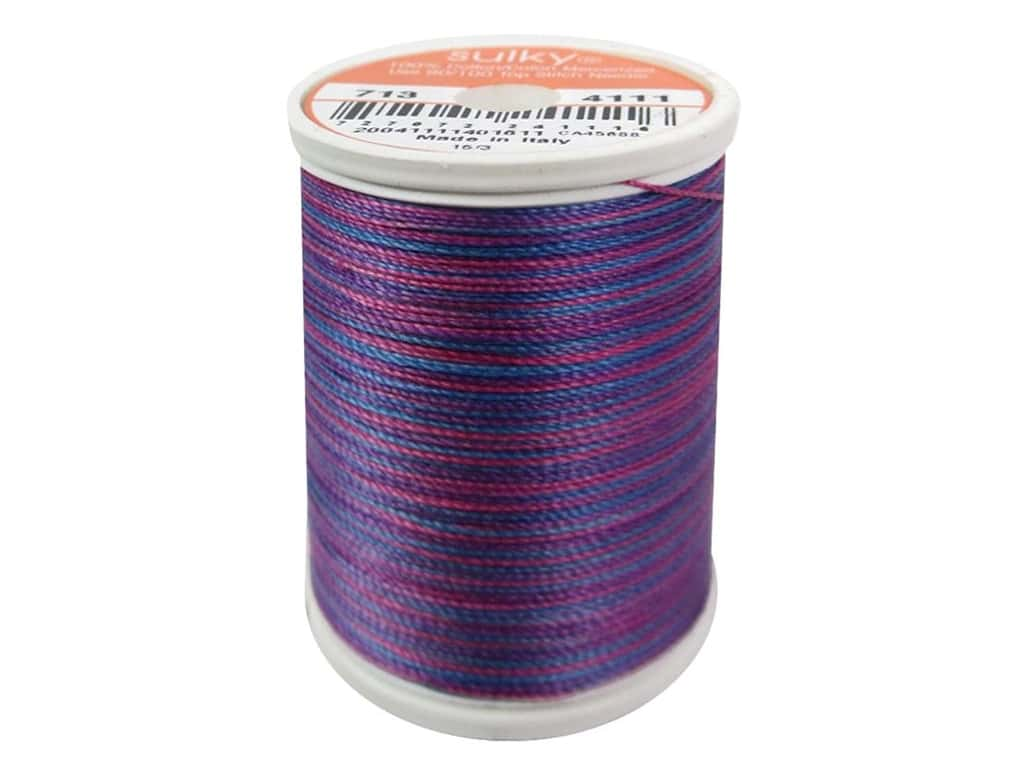 Sulky Blendables Cotton Thread 12 wt. 330 yd. #4111 Deep Jewels
