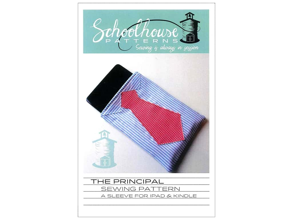 Schoolhouse Principal Tablet Sleeve Pattern