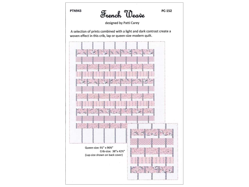 Patti's Patchwork Patterns - French Weave