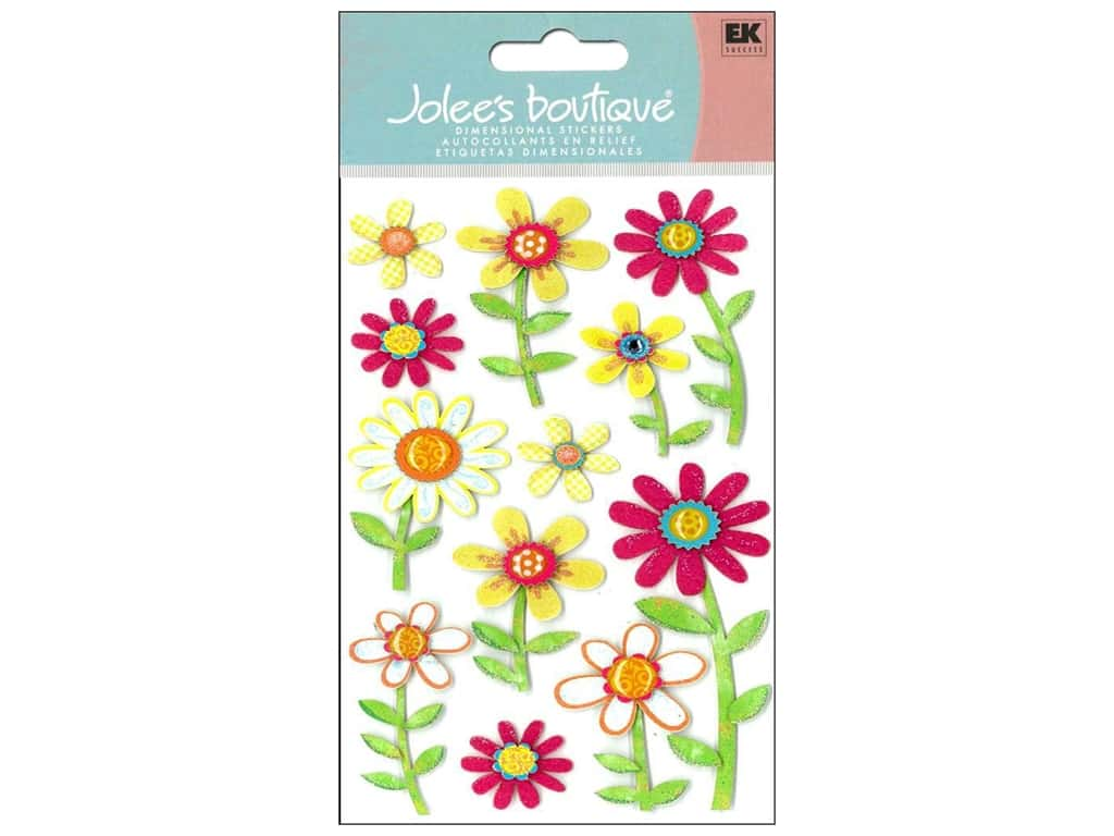 Jolee's Boutique Stickers Large Daisy Repeats