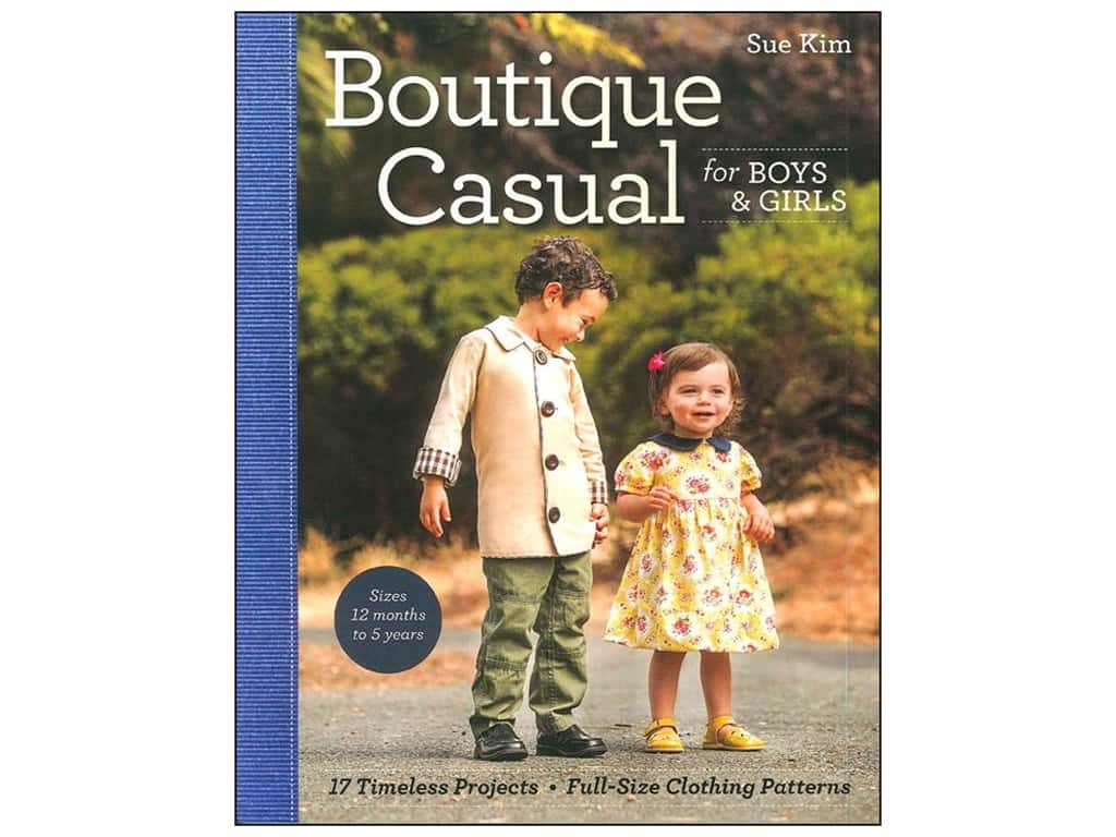 Boutique Casual for Boys & Girls Book