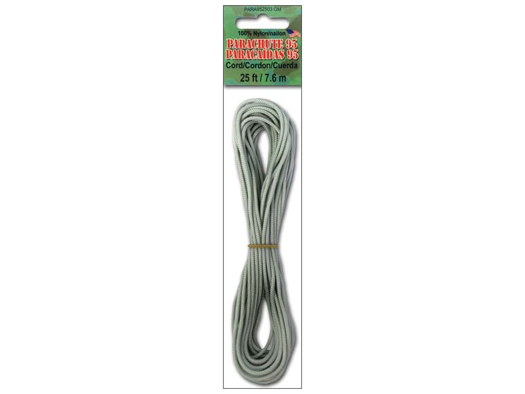Pepperell 95 Parachute Cord 25 ft. Gun Metal