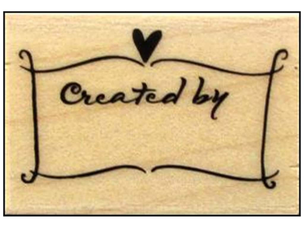 Hero Arts Rubber Stamp Created By Banner