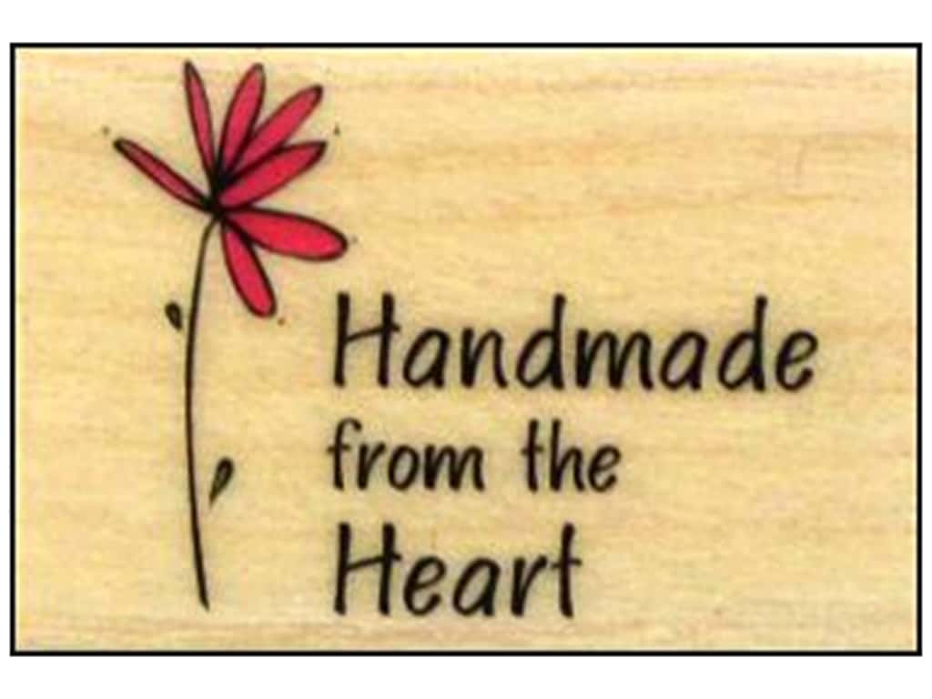 Hero Arts Rubber Stamp Handmade From The Heart