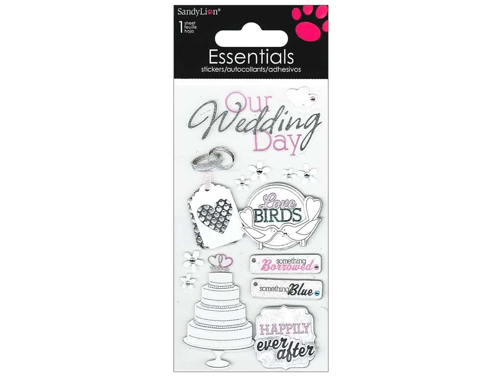 SandyLion Sticker Essentials Wedding