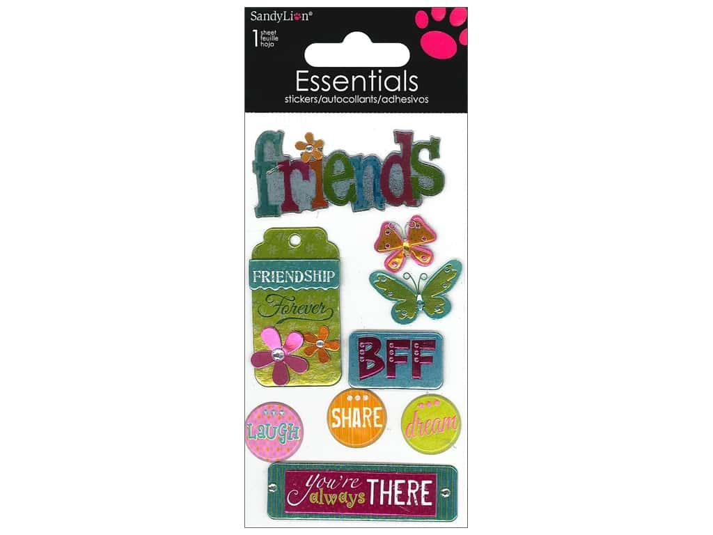 SandyLion Sticker Essentials Friends