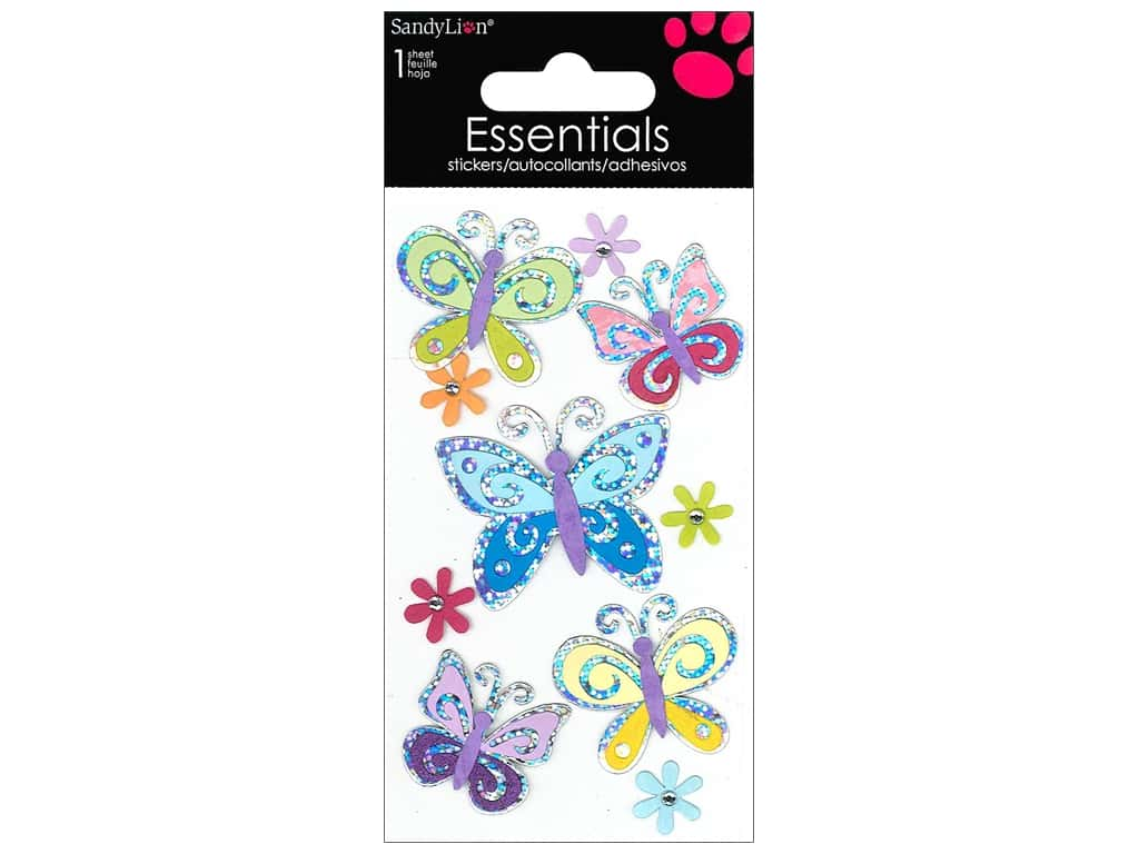 SandyLion Sticker Essentials Butterflies