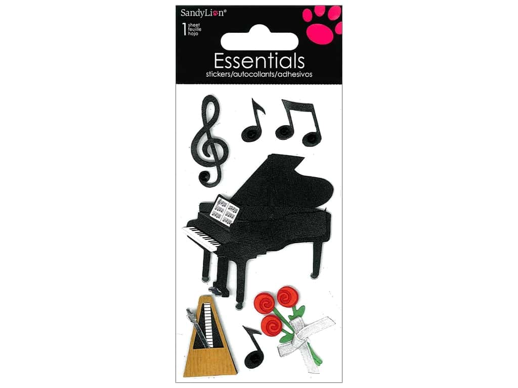 SandyLion Sticker Essentials Piano