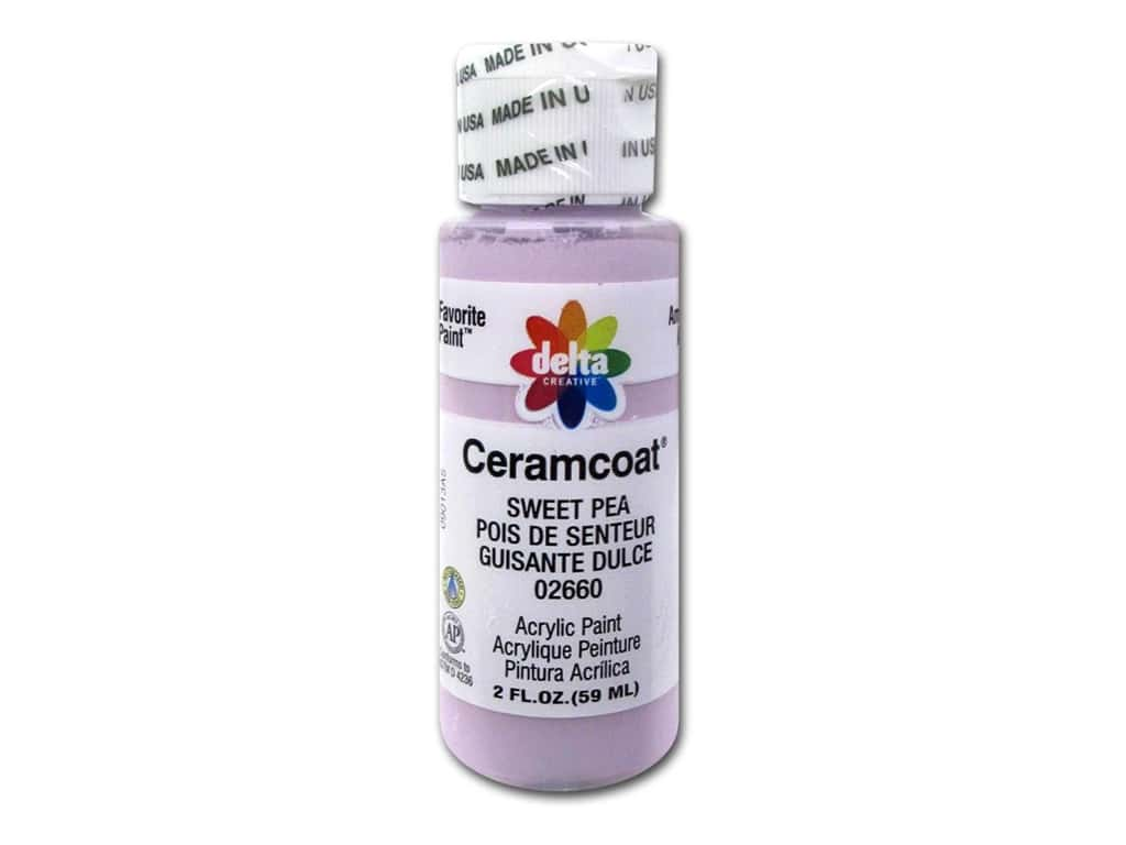 Delta Ceramcoat Acrylic Paint 2 oz. #2660 Sweet Pea