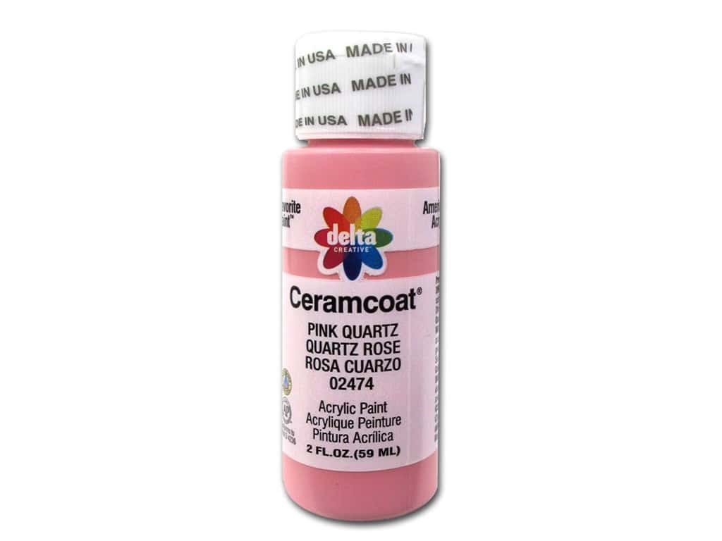 Delta Ceramcoat Acrylic Paint 2 oz. #2474 Pink Quartz