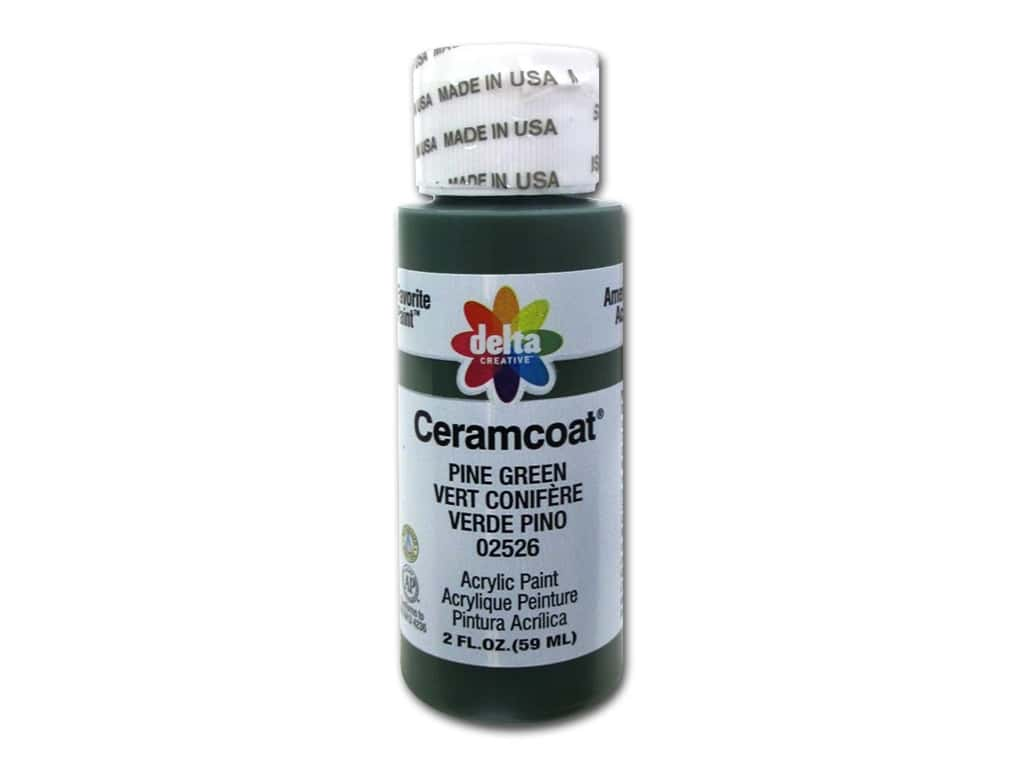 Delta Ceramcoat Acrylic Paint 2 oz. #2526 Pine Green