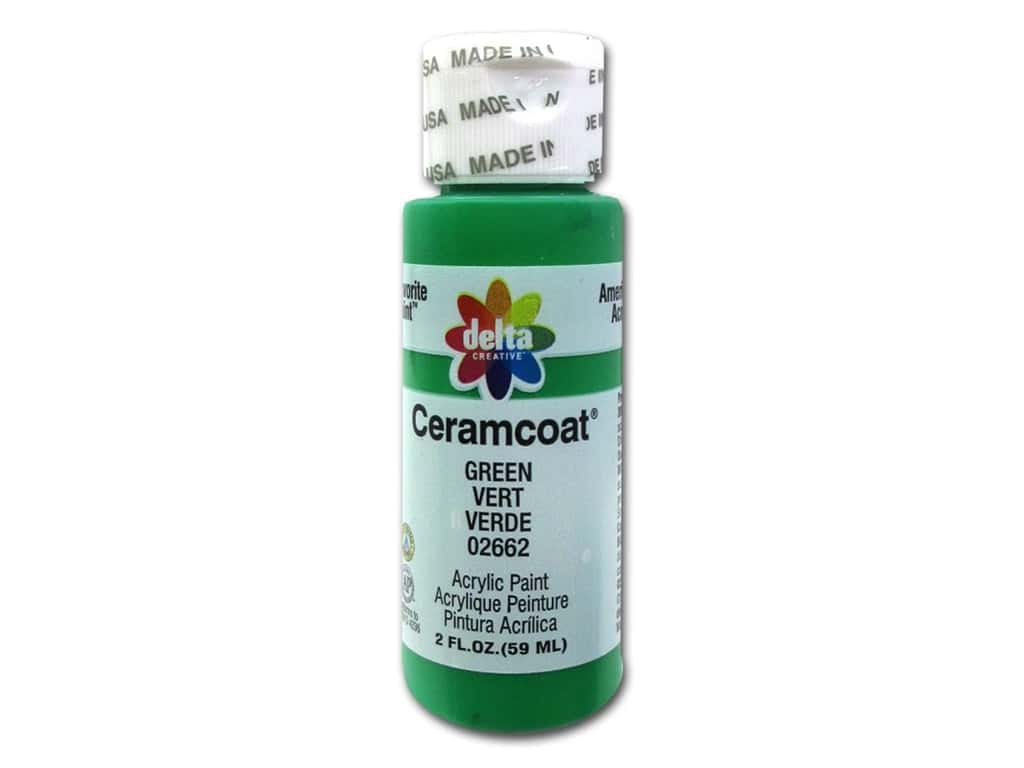Delta Ceramcoat Acrylic Paint 2 oz. #2662 Green