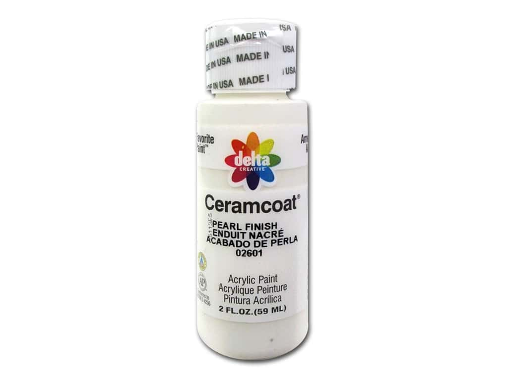 Delta Ceramcoat Acrylic Paint - #2601 Pearl Finish 2 oz.
